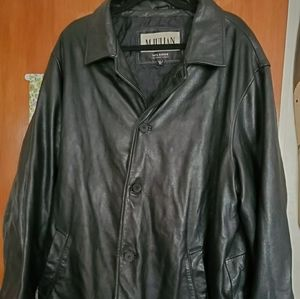 Wilson's M. Julian vintage trench leather jacket